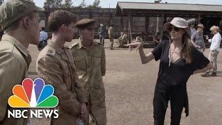 Download Angelina Jolie's ″Unbroken″: Behind The Scenes Interviews | NBC News Video