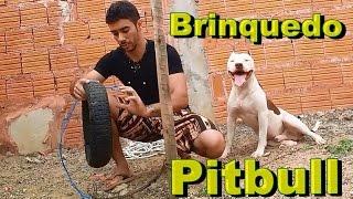 Download Briquedo para Pitbull Bolinha e Pneu Iniciante Video