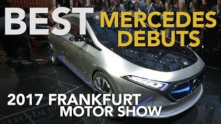 Download Mercedes GLC F-Cell, Concept EQA, Smart Vision EQ Concept & More: 2017 Frankfurt Motor Show Video