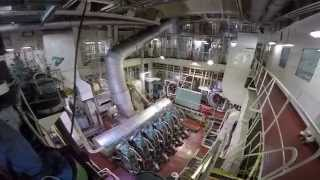 Download FSO CRUDE OIL TANKER - TOUR OF ENGINE ROOM Video