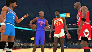 Download NBA 2K18: The Greatest Dunk Contest of All Time! Jordan, Carter, Wilkins, Erving! #PS4 Video
