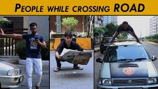 Download People while crossing the Road | Funcho Entertainment Video