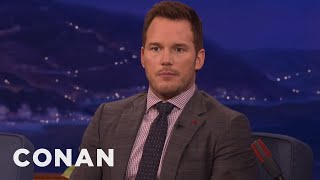 Download Chris Pratt Doesn't Always Want To Take A Selfie With You - CONAN on TBS Video