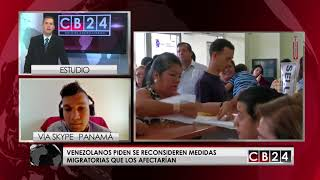 Download Venezolanos en Panamá preocupados por medidas migratorias Video