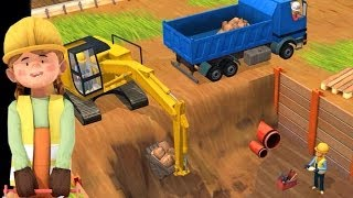 Download Little Builders App - Trucks, Cranes & Diggers | Top Best Apps For Kids Video