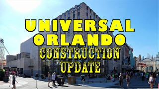 Download Universal Orlando Resort Construction Update 2.20.17 Signage, New Steel, & More! Video
