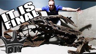 Download 2,000 gallon aquarium scape is DONE! Aquarium gallery update Video