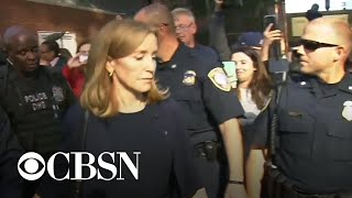 Download Felicity Huffman sentenced to 14 days in jail Video