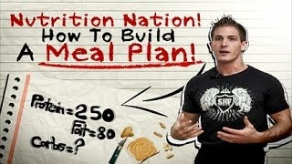 Download Building Your Meal Plan! Learn How To Calculate Protein, Carb & Fat Daily Intake For Your Goals! Video