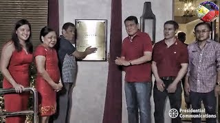 Download PRESIDENT DUTERTE UNVEILS THE MARKER OF THE MELLA HOTEL w/ THE BIRTHDAY CELEBRATION of MANUEL VILLAR Video