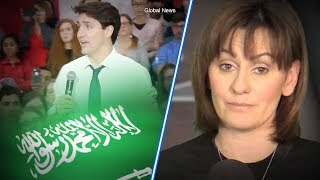 Download Trudeau dodges Saudi oil question at Regina Town Hall | Sheila Gunn Reid Video