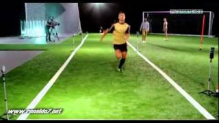 Download Cristiano Ronaldo races against sprinter!- Tested to the limit Video