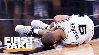 Download Stephen A. Disappointed In Tony Parker's Injury | First Take | May 4, 2017 Video