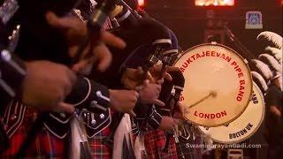 Download Shree Muktajeevan Swamibapa Pipe Band welcomes PM Modi at Wembley Stadium Video