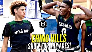Download LaMelo Ball & Chino Hills Put On a SHOW FOR THE AGES! 2nd Round Win vs LB Poly Full Highlights! Video