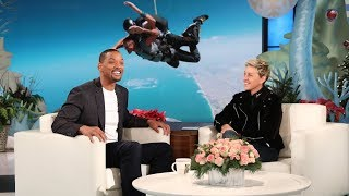 Download Will Smith Watched His Sons Jump Out of an Airplane Video