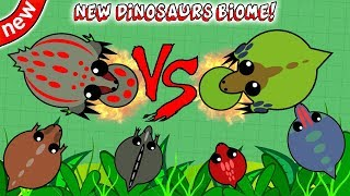Download MOPE.IO NEW DINOSAURS BIOME UPDATE IDEA! ELEPHANT TROLLING ALL NEW DINOSAURS BIOME ANIMALS!(Mope.io) Video