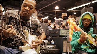 Download NAMM 2016: Eric Gales & Mono Neon Live At The Dunlop Booth Video