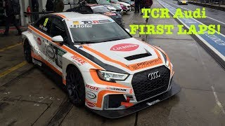 Download FIRST LAPS: Audi RS3 LMS Video