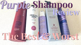 Download PURPLE SHAMPOO REVIEW 2018 | The Best & Worst Purple Shampoos Video