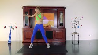 Download At Home Fat Burning Cardio Workout Blast Fat - Day 1&15 - 21 Day Transformation Video