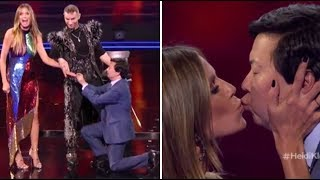Download Hedi Klum & Ken Jeong Get ENGAGED On TV After NEARLY DYING Together! | America's Got Talent 2018 Video