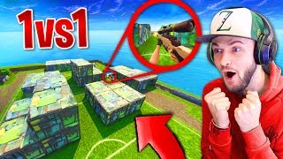 Download We built SHIPMENT and SNIPER 1v1'd in FORNITE! Video