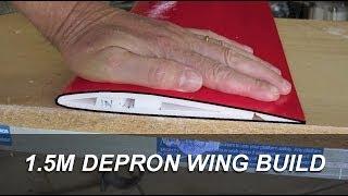 Download Depron wing build Video
