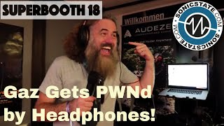 Download Superbooth 2018: Gaz Gets Totally PWNd by Some Audeze Headphones! Video