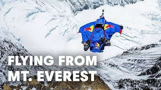 Download Flying from Mt. Everest - The Mission - World Record BASE Jump Video