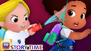 Download Cussly Learns To Save Water - Good Habits Bedtime Stories & Moral Stories for Kids - ChuChu TV Video