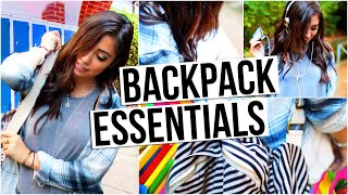 Download 10 Things You Need In Your Backpack!!   Back To School Essentials Video