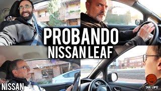 Download Mi familia y mis amigos prueban el Nissan LEAF (su primer eléctrico: REACCIONES) Video