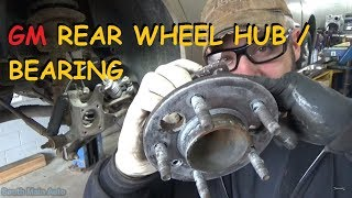 Download GM - Rear Wheel Bearing / Hub Assembly Video