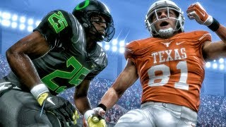 Download TEXAS vs OREGON NCAA FOOTBALL 18 ON MUT! Madden 18 Ultimate Team Gameplay Ep. 8 Video