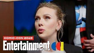 Download 'Black Widow' Stars Scarlett Johansson, David Harbour & Cast LIVE | SDCC 2019 | Entertainment Weekly Video