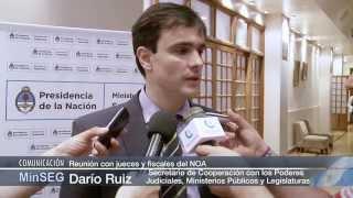 Download Reunión con jueces y fiscales del NOA Video