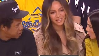 Download Beyonce's Reaction to a Woman Talking to JAY-Z Is a Must-See Video