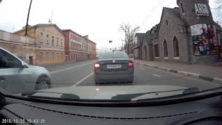 Download Водятла не пустили на дороге н268тх152. часть 1 Video