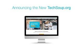 Download Meet the New TechSoup Website Video