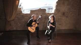 Download Cafè 1930 di Piazzolla Duo Anlagen Angela Longo, clarinetto - Angelo Martines, chitarra Video