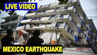 Download LIVE VIDEO: Mexico Earthquake Topples Buildings Video