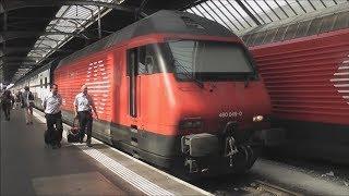 Download Full Train Journey: SBB CFF FFS Zurich HB/Main - Airport/Flughafen Video