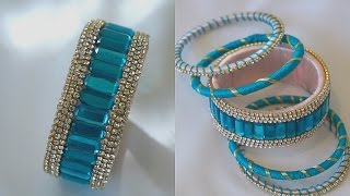 Download Turn Your Old Bangles Into latest Slik Thread Bangles/Slik Thread Bangles Video