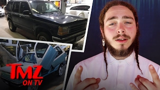Download Post Malone Pimps His ... '92 Explorer?? | TMZ TV Video