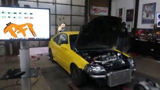 Download Turbo D series Head Gasket Fail! Part 1 MotionAutoTv dyno Video