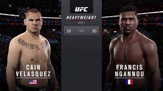 Download Cain Velasquez Vs Francis Ngannou EA Sports UFC 2 Video