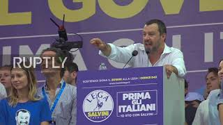 Download Italy: Lega's ideas 'last hope for this Europe to stay alive' - Salvini Video