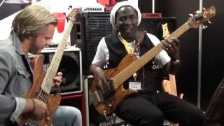 Download Hadrien Feraud - Richard Bona - Dominique DiPiazza - IQS Strings - Musikmesse 2015 Video