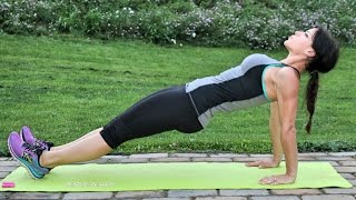 Download 4-Minute Plank Challenge for a Stronger Core: No Equipment Workout Video